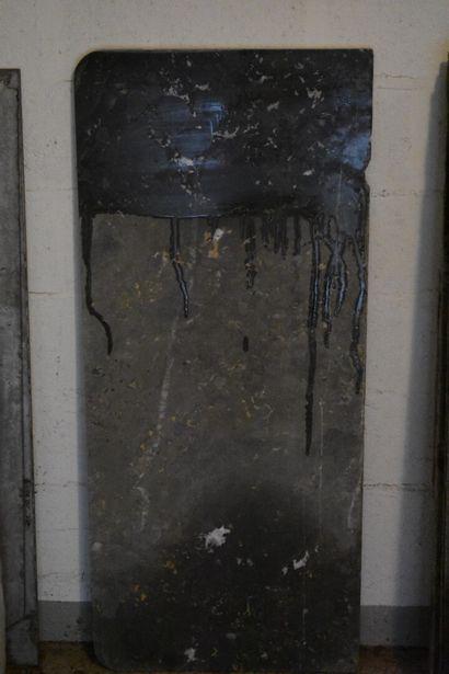Marbre Gris de Saint Anne de commode, XIXe...