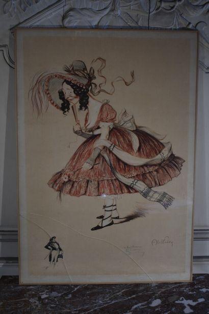 Abel Jules FAIVRE (1867-1945)  Lithographie...