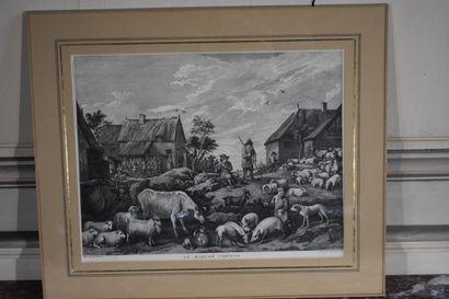 D'après David II TENIERS (1610-1690), gravé...