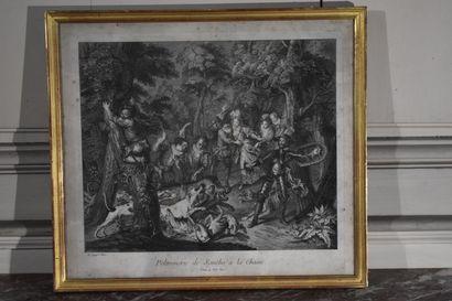 D'après Charles-Antoine COYPEL (1694-1752)...