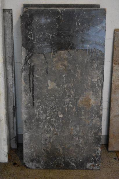 Marbre Gris de Saint Anne de commode d'époque...