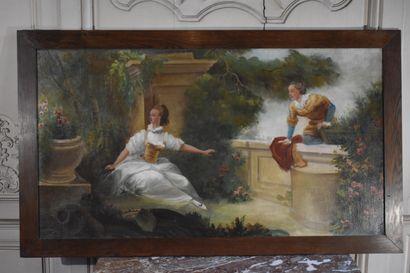 Ecole française du XIXe siècle, dans le goût...