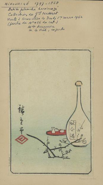 Utagawa HIROSHIGE (1797-1858)  Japon, XIXe...