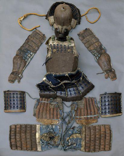 Armure de samouraï composite  Japon, fin...