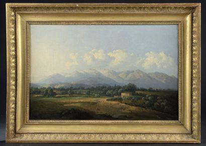 Jean-Joseph-Xavier BIDAULD (Carpentras, 1758 - Montmorency, 1846)  Italian Mountainous...