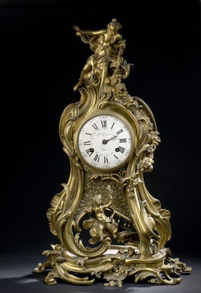 Importante pendule d'époque Louis XV provenant...