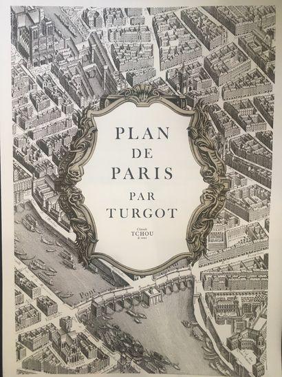 Plan de TURGOT  Tchou, Paris 1989, réédition...
