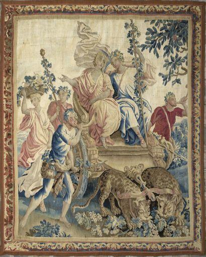 BRUXELLES, début du XVIIIe siècle  Tapisserie...