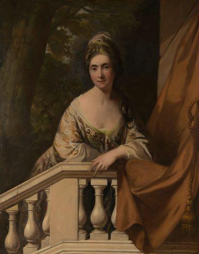 Attribué à James NORTHCOTE (1746-1831)  Portrait...