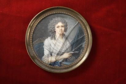 Attribué à Jaques Antoine Marie LEMOINE (1751-1824)...