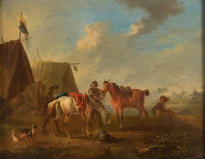 Auguste QUERFURT (Wolffenbüttel 1696 - Vienne...
