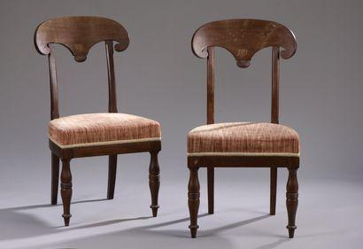 Paire de chaises d'époque Directoire  En...
