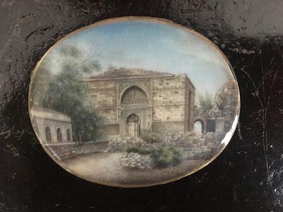 École INDIENNE de la 2nde moitié du XIXe...