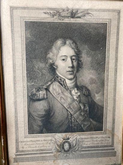 Charles Philippe de France gravée par FRESCHI...