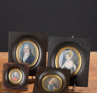 Pierre-Noël VIOLET (1749-1819)  Portraits...