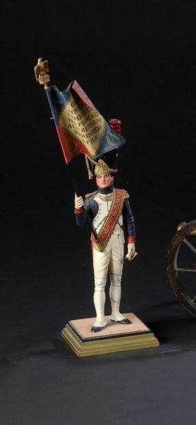 FOUILLÉ  Porte-drapeau des grenadiers de...