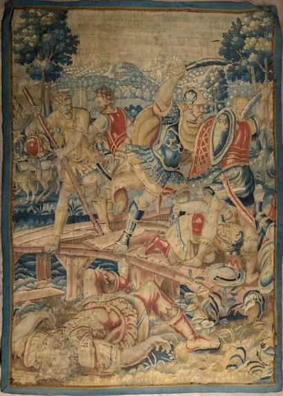 BRUXELLES, XVIIe siècle  Horatius Cocles...