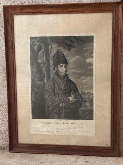 D'après VAN UYCK  Frédéric, comte de Mérode...