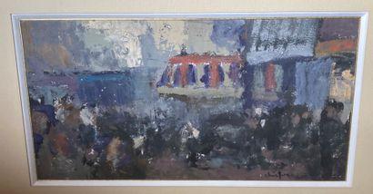 Pierre CHRISTIN (né en 1956)  Les Halles...