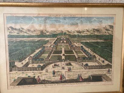 École FRANÇAISE du XVIIIe siècle  Château...