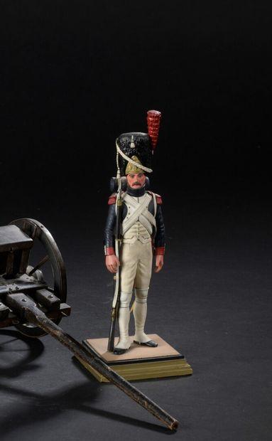 FOUILLÉ  Grenadier de la garde à pied, 1er...
