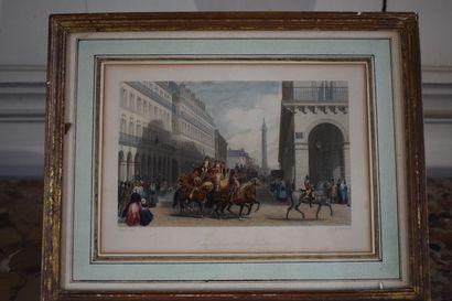 D'après Eugène Louis LAMI (1800-1890)  Suite...