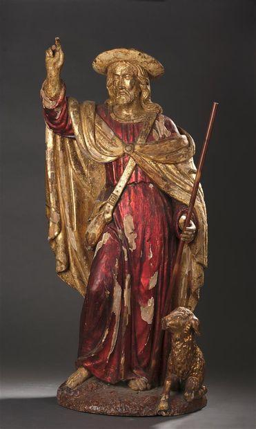 Christ le Bon Pasteur, France, XVIIIe s....