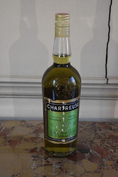 Chartreuse verte, 1969  Une bouteille, niveau...
