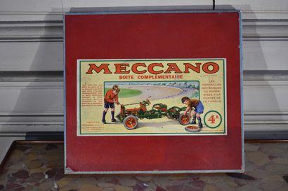 MECCANO, boîte complémentaire 4a, vers 1950...