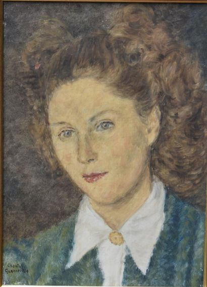 Chantal QUENNEVILLE (Montbard - XXe siècle)...