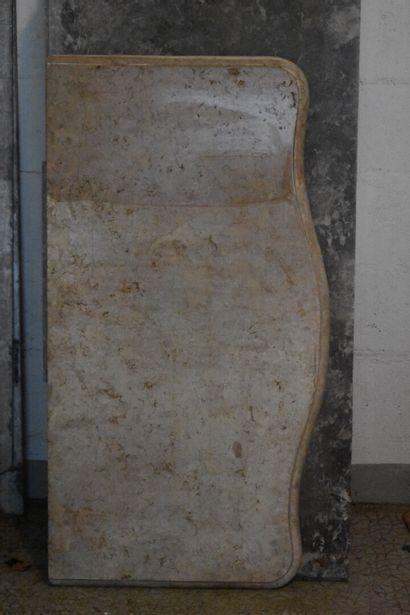 Marbre de commode en pierre de Bourgogne...
