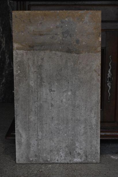 Pierre de buffet, XVIIIe siècle  De forme...