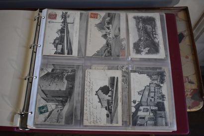 Lot d'environ 200 cartes postales, début...