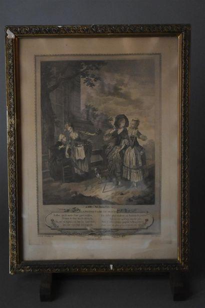 D'après Charles Louis LINGÉE (1748-1819)...