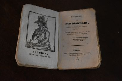Histoire de Louis Mandrin, depuis sa naissance...