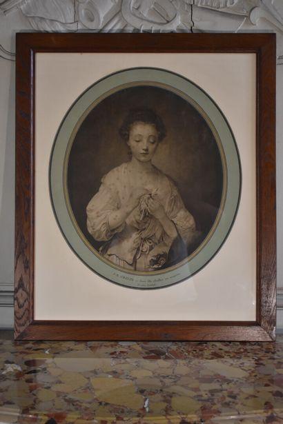 D'après Jean-Baptiste GREUZE (1725-1805)...