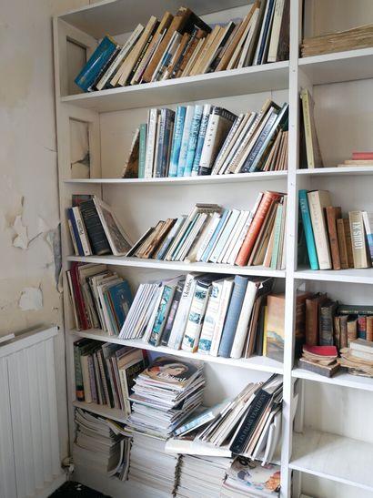 3ème étage  Lot de livres modernes, beaux-arts....