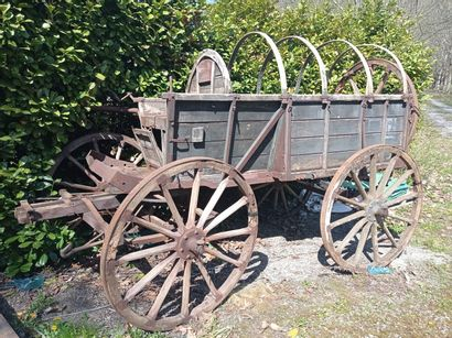 Chariot hippomobile, modèle HF 1 ou HF 2,...