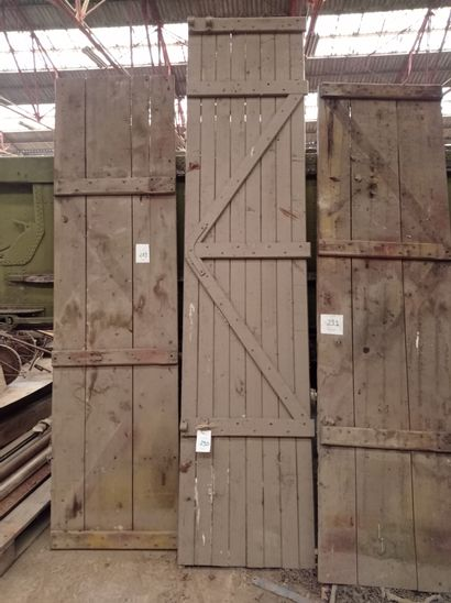 Ridelle, en bois.288 x 67 cm env