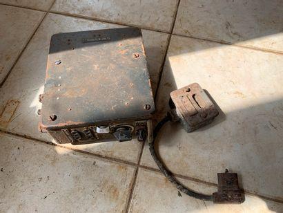 Lot : boîte de dérivation, interrupteur