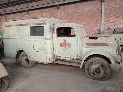Camion ambulance Steyr, modèle 1500, 4 x...