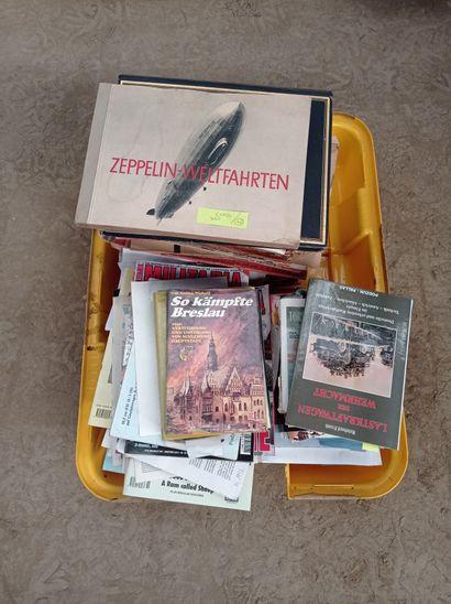 Lot de livres, revues, manuels et divers...