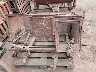 Train arrière de chariot pour les transmissions,...