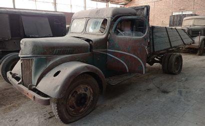 Ford Werk Cologne flatbed truck, model V3000 4 x 2, 4 cylinder Ford A gasoline engine....