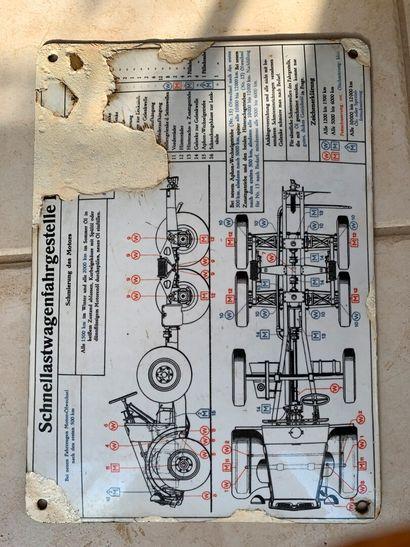 Schéma de graissage pour Kupp Protze. (accidents...