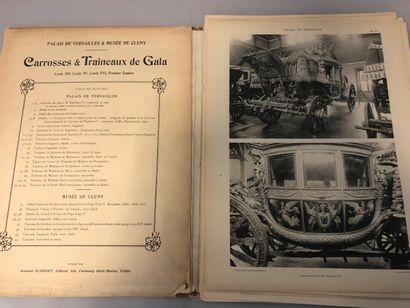 Carrosses et traîneaux de gala du palais...