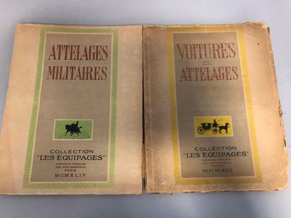 Attelages militaires, Pierre Mac-Orlan. Collection...