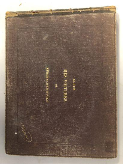 J. DELTON, Album des voitures Desouches-Touchard....
