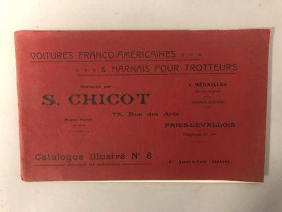 S. Chicot, 78 rue des arts, Paris, Levallois,...