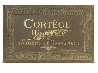 Cortège historique des moyens de transport,...